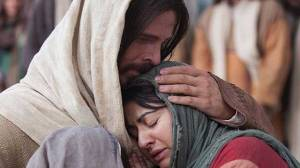 Christ-comforting-woman