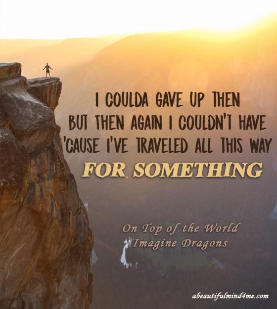 Quote- Imagine Dragons