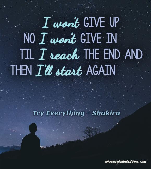 Quote- Shakira