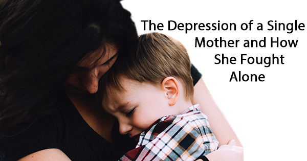 Single Mom with child Depression
