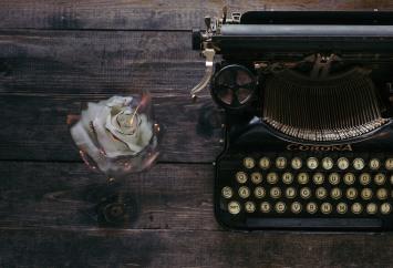 Eating Disorder Letters Burning Rose