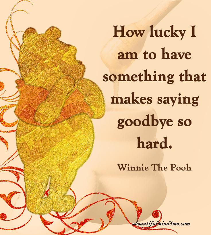 Disney Quote Winnie the Pooh