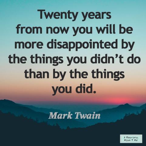 Mark Twain Life Quote
