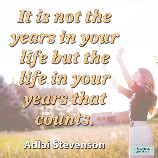 Adlai Stevenson Life Quote