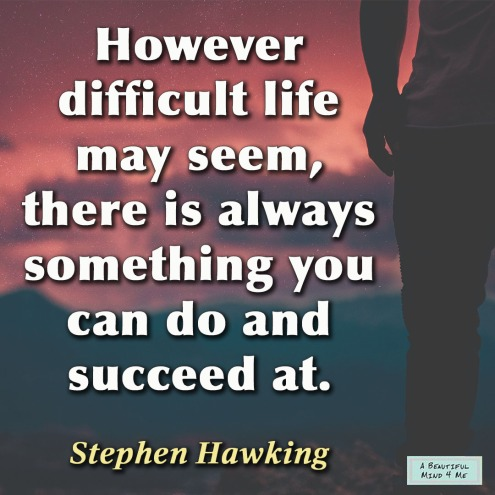 Stephen Hawking Life Quote