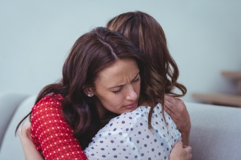 LDS Woman Ministering to Depressed Friend